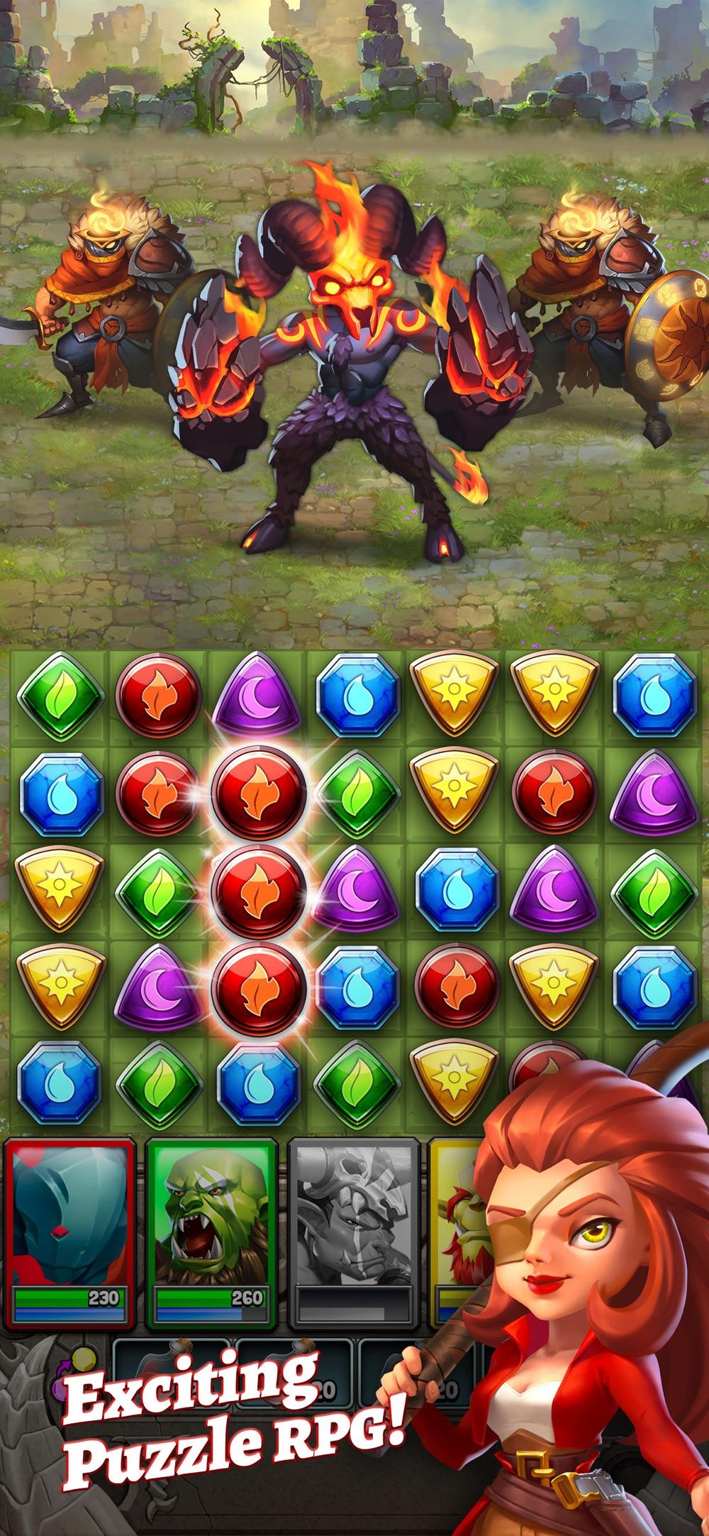 Dragon Strike: Puzzle RPG Cheat Codes