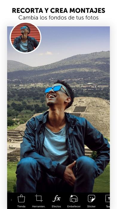 Screenshot for PicsArt Editor de Fotos in Peru App Store