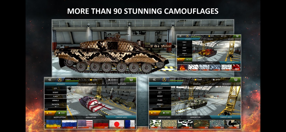 Tanktastic – 3D Tanks Online Cheat Codes