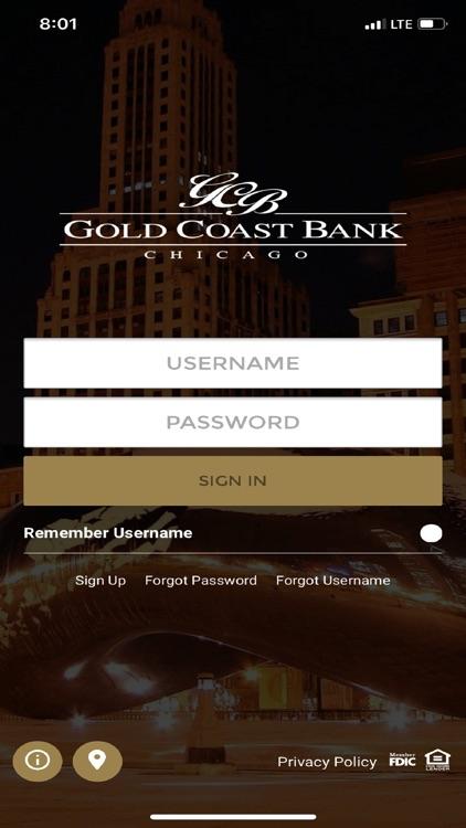 Gold Coast Bank Chicago