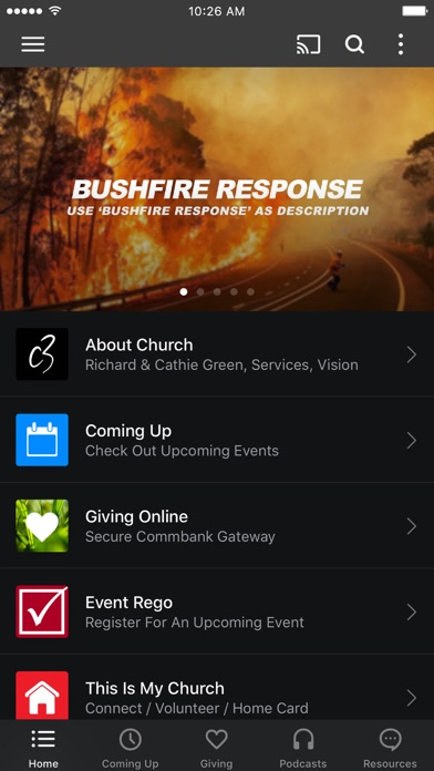 C3 Church Ryde screenshot one