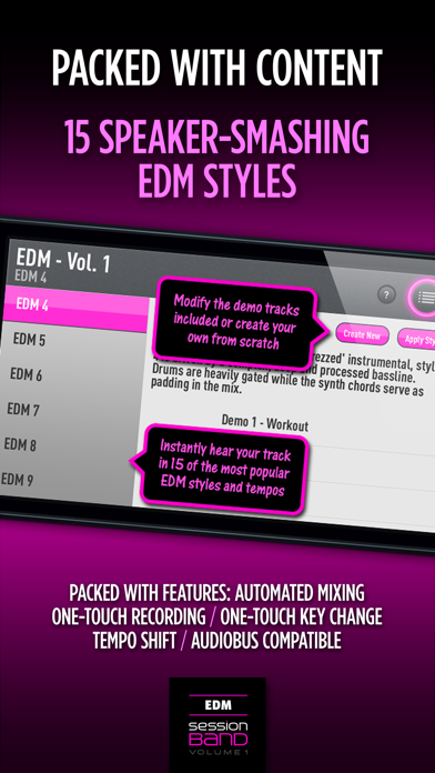 SessionBand EDM 1 Screenshots
