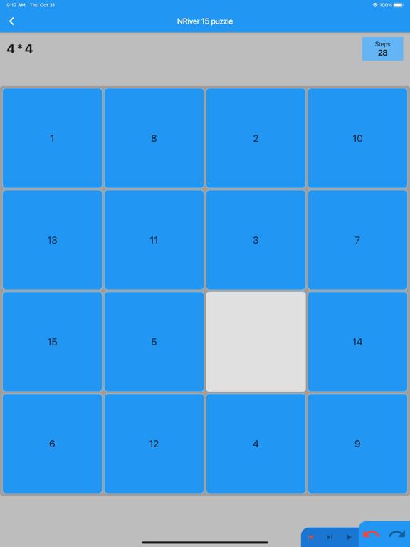 NRiver 15 puzzle screenshot 1
