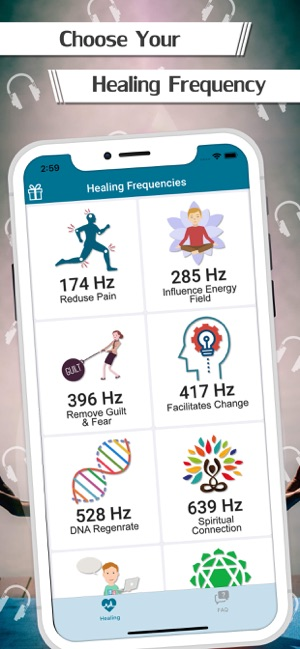 Healing Frequencies For Mind on the App Store