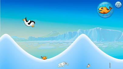 Racing Penguin: Slide and Fly!-4