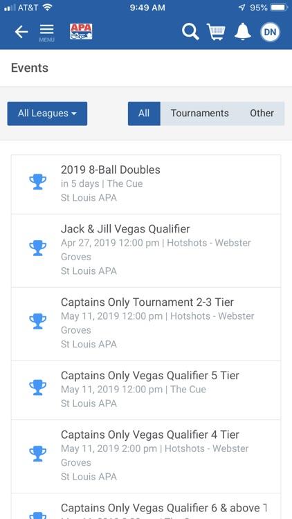 APA Pool League screenshot-3