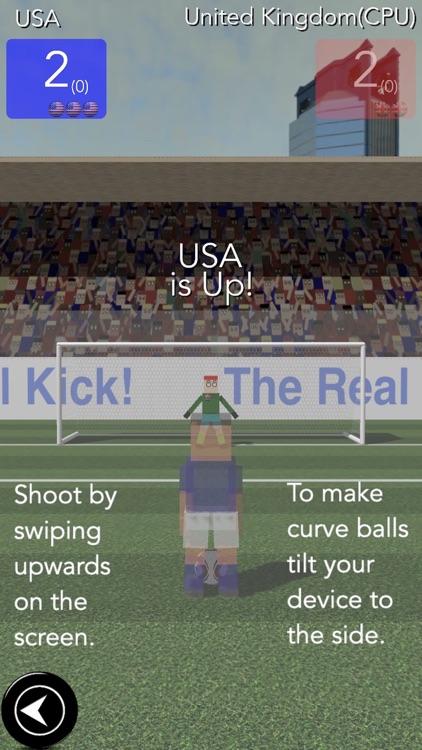 Real Kick Soccer screenshot-4