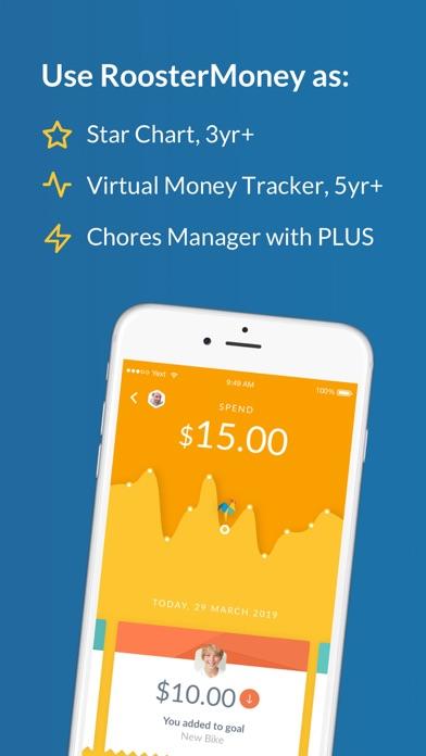 RoosterMoney Allowance Manager Screenshot