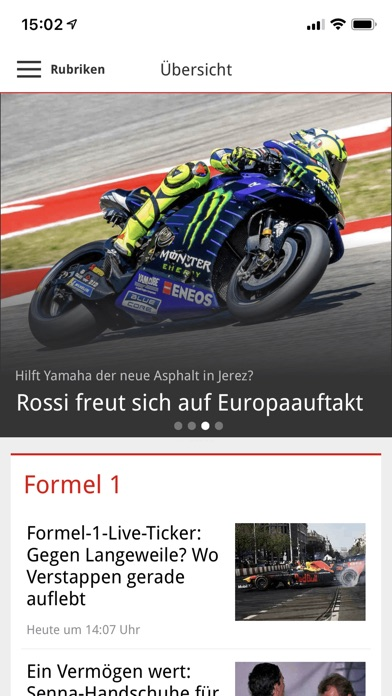 Screenshot for Motorsport-Total.com in Brazil App Store