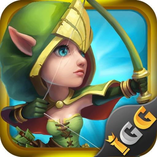 Castle Clash: War Empire iOS App