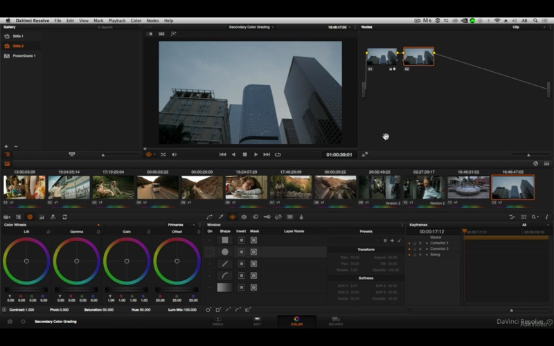 Secondary Color Grading Class for Mac
