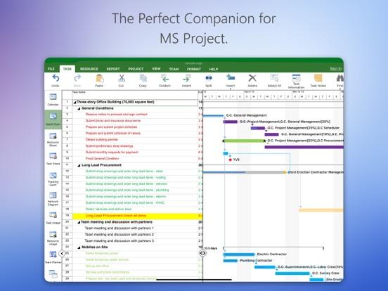 Project Plan screenshot