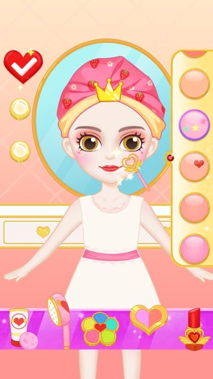 Princess Makeup Dress Design screenshot-4