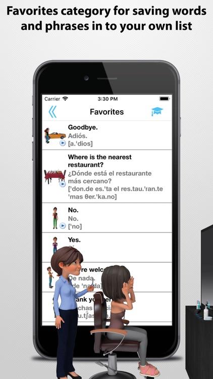 Travel Interpreter Phrasebook screenshot-7