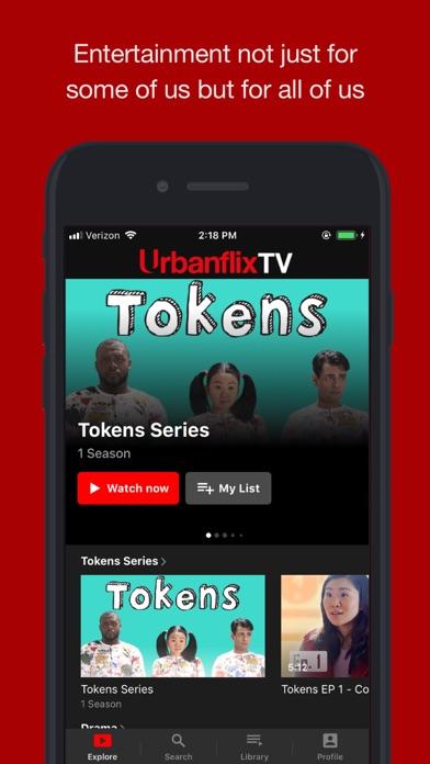 UrbanflixTV Screenshot
