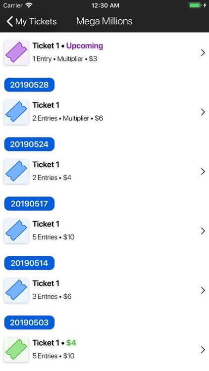 Keno Lotto Pro: Ticket Scanner screenshot-3