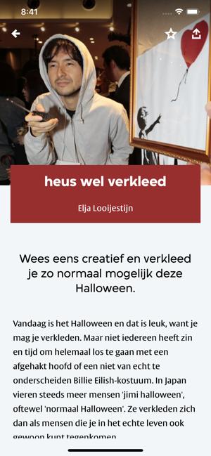 Creatief Halloween Verkleden.App Store 上的 Vpro Koos