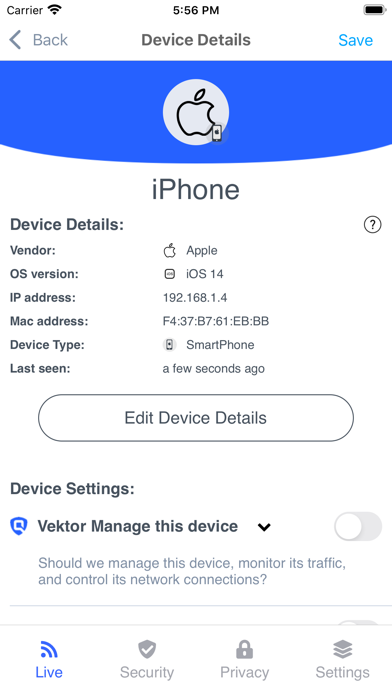 Vektor Security screenshot 3