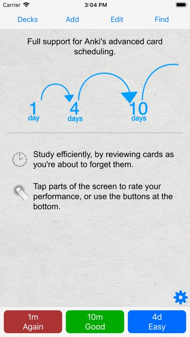 Screenshot for AnkiMobile Flashcards in Denmark App Store