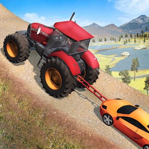 Трактор Тянуть Грузовая машина
