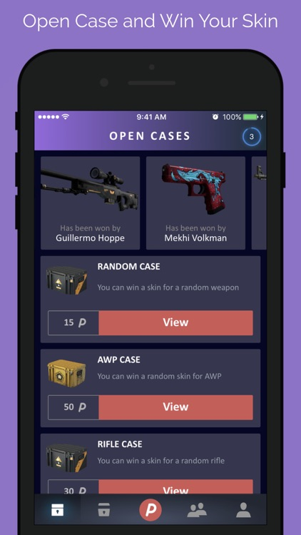 DailySkins: Cases & Skins