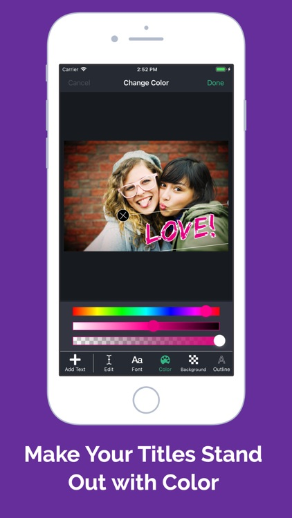 Add Text To Photos And Videos screenshot-3