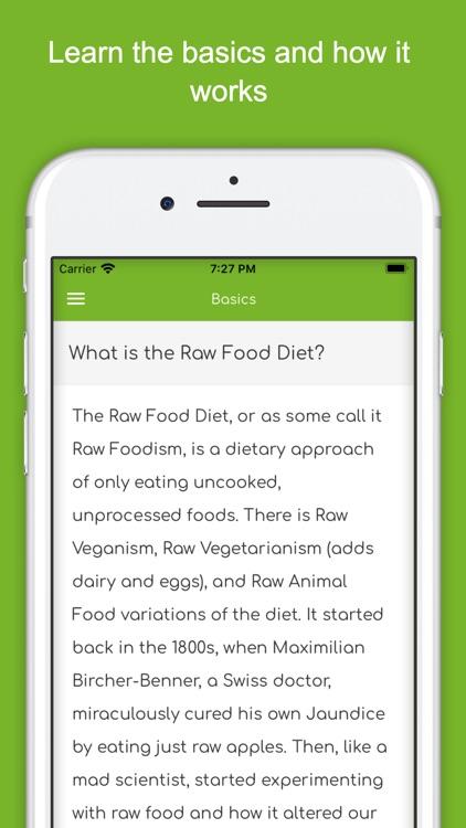 Raw Food Diet Guide - Vegan