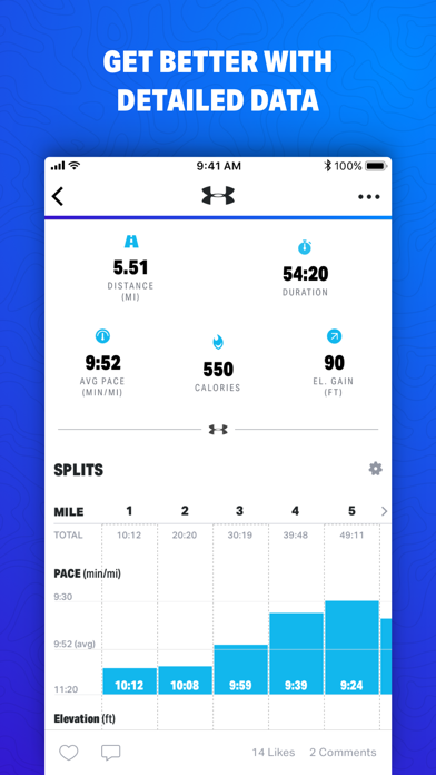 Map My Fitness by Under Armourのおすすめ画像2