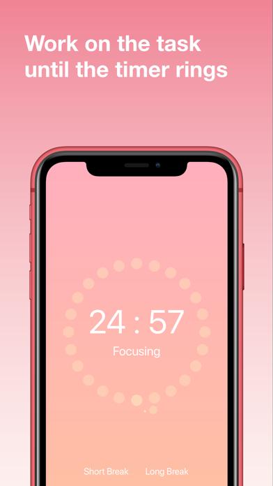 Screenshot #3 pour FocusDots: Tomato Focus Timer