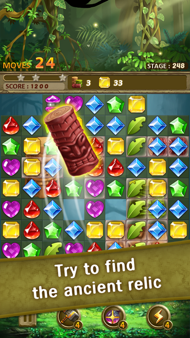 Jewels Jungle : Match 3 Puzzle screenshot 5