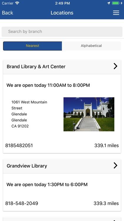 Glendale Library Arts GLAC screenshot-7