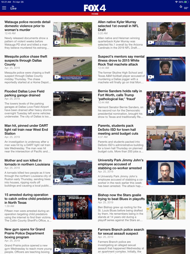 FOX 4 Dallas-Fort Worth on the App Store