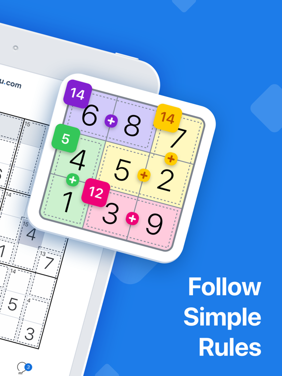 Killer Sudoku by Sudoku.com screenshot 10