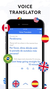 Voice to Voice Translator App iphone images