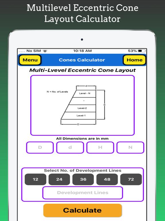 Cones Calculator screenshot 18
