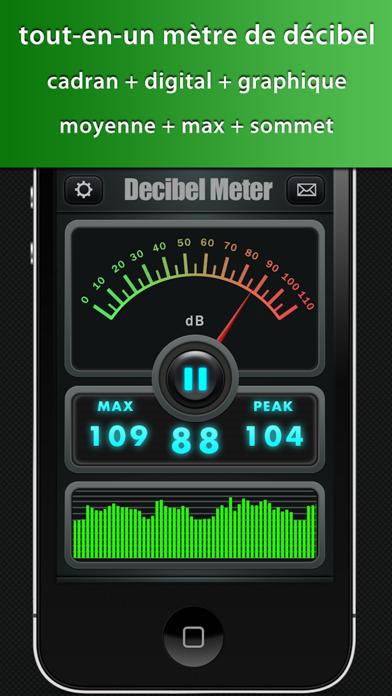 Screenshot #1 pour Decibel Meter Plus Pro