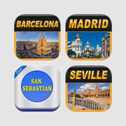 Spain Offline Map Travel Bundle