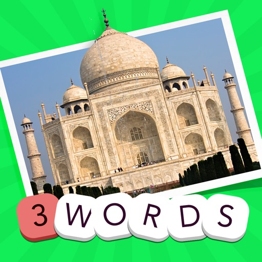 3 Words: Geography  – see a pic of a famous place, guess the three hidden words