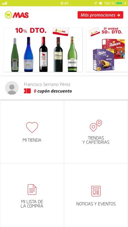 Supermercados MAS: cupones