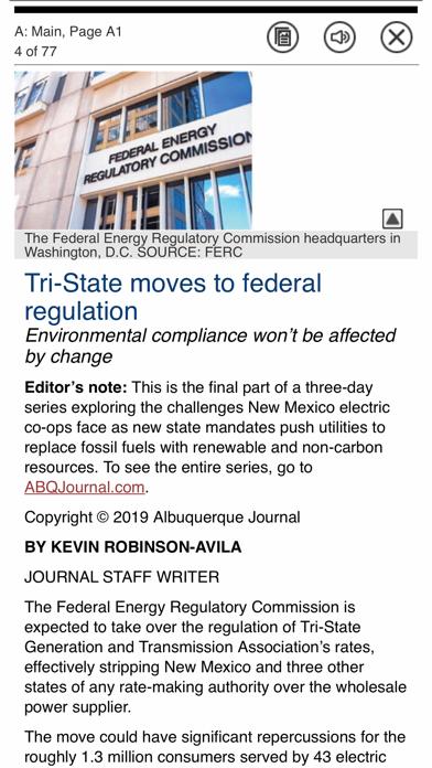 Albuquerque Journal Newspaper Screenshot