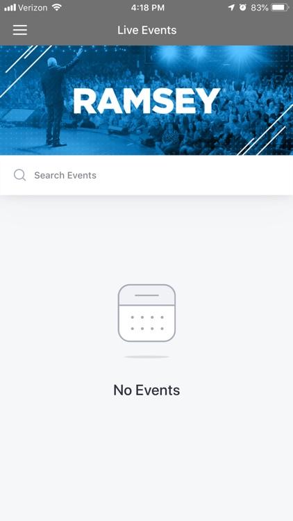 Ramsey Events