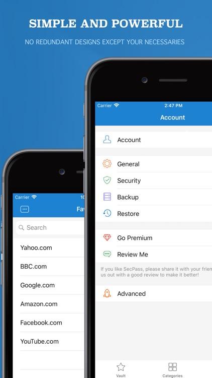 CalPass Secure Vault Manager screenshot-4