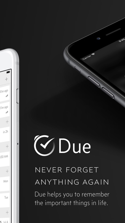 Due - Reminders & Timers