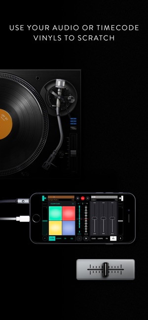 Mixfader dj app on the App Store