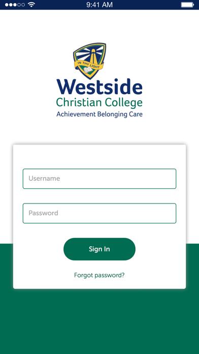 Westside Christian College screenshot two