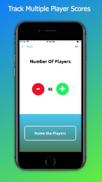 Disc Golf Score Keeper Plus Screenshot