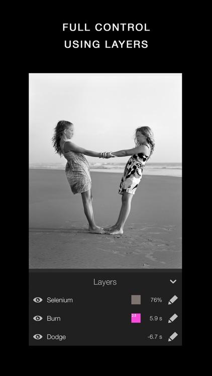 Darkr - Black And White Filter screenshot-3