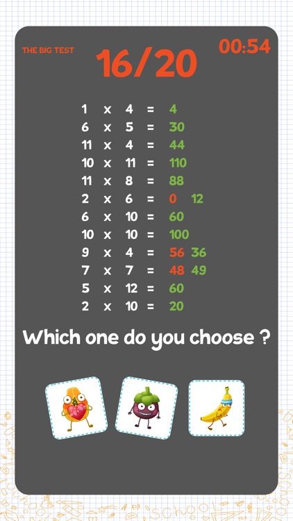 Multiplication games for kids! screenshot-6