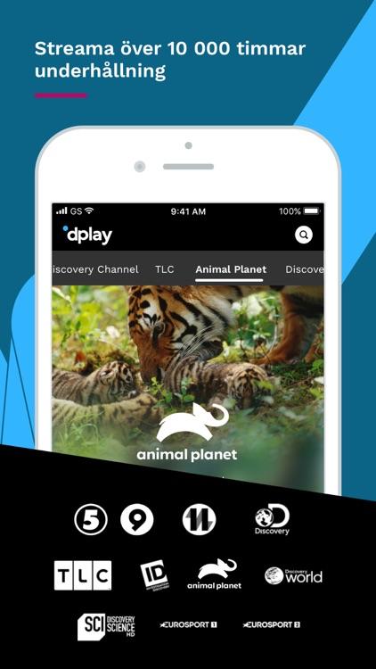 dplay – TV, serier och esport screenshot-4