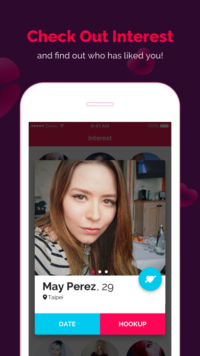DOWN Dating Hookup- Match&chat Screenshot on iOS